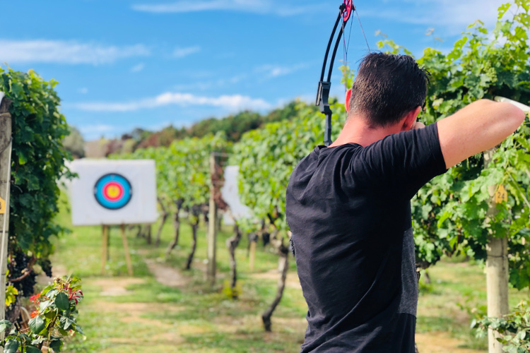 Clay bird shooting Waiheke