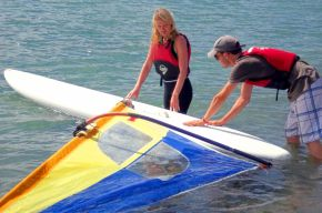 Windsurfing Hire & lesson